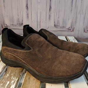 Womens shoes comfort flats slip clogs work lands e